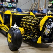 Lego car – compressed air powered vehicle