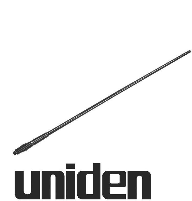 UNIDEN AT890BK FIBREGLASS UHF UHF CB ANTENNA 6.6DBi BLA