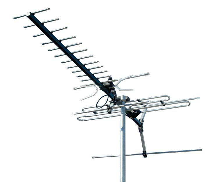 DIGIMATCH DC21A VHF UHF OUTDOOR ANTENNA 21 ELEMENT DIGI