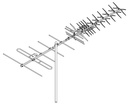 DIGIMATCH DG49 VHF UHF OUTDOOR ANTENNA [DG49] AU$199.00