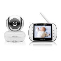 MOTOROLA MBP36 s DELUXE VIDEO AND SOUND BABY MONITOR [m