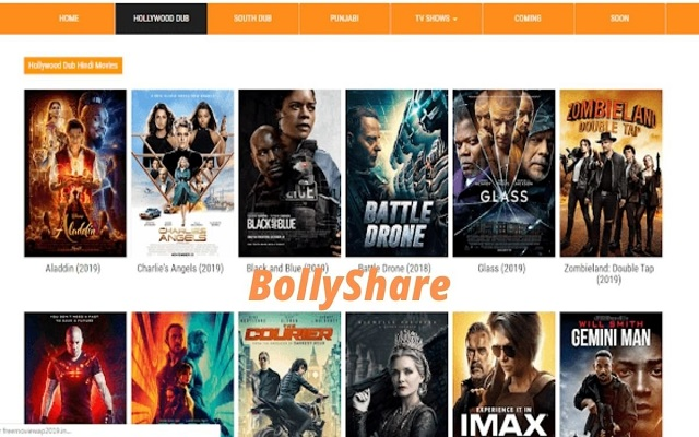 BollyShare.Com Moved To Bollywoodfilma.Monster