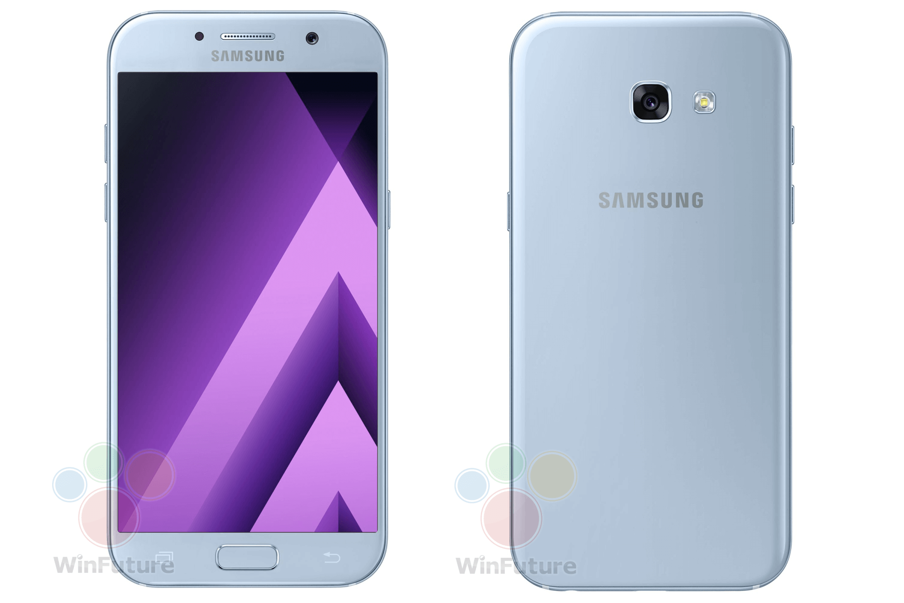 official photos of samsung galaxy a5 2017 and galaxy a3 2017 unveiled. Black Bedroom Furniture Sets. Home Design Ideas