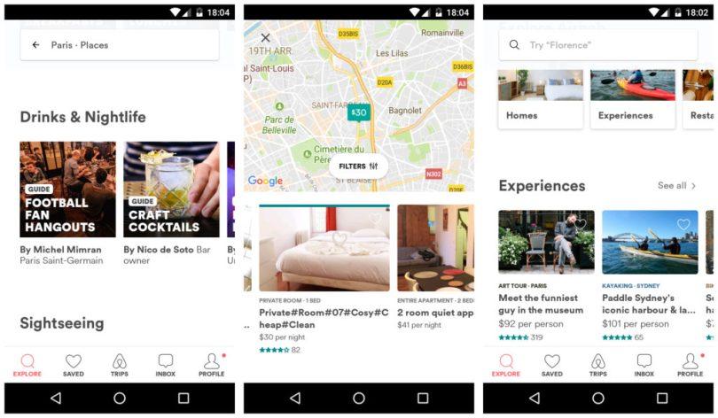 Airnb Vacation rentals app