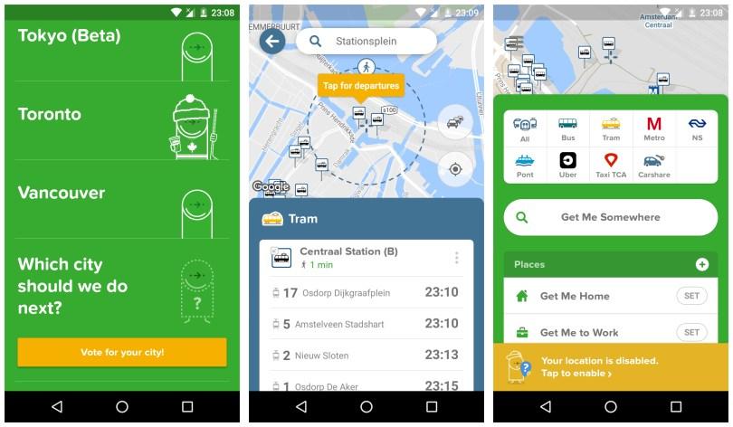 Citymapper Transit Navigation app