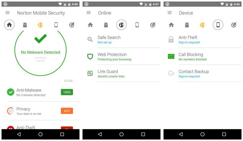 Norton Mobile Security and Antivirus