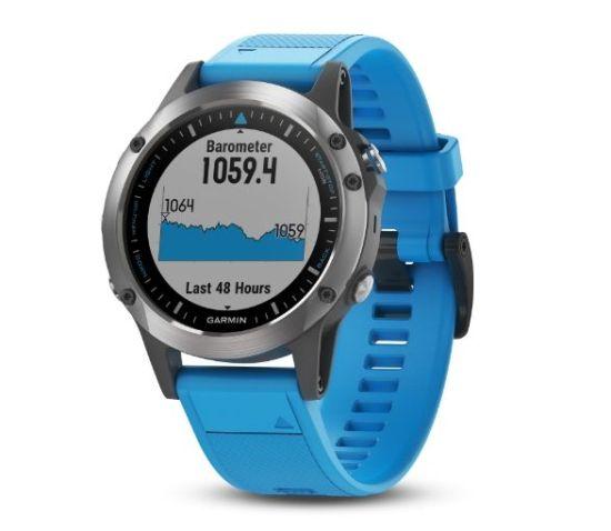 Garmin Quatix 5 waterproof smartwatch for swimming and other marine sports