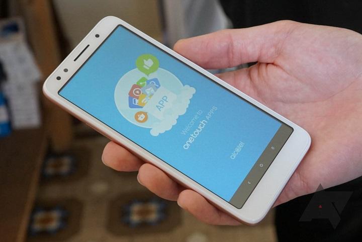 Alcatel 1x smartphone