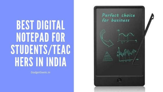 Best Digital Notepad for Taking Handwritten Notes in India 1