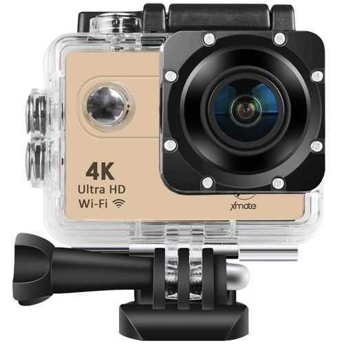 Xmate Shot Pro 16 Mega Pixel 4K WiFi Sports Waterproof Casing Action Video Camera with Remote Control and Accessories Kit