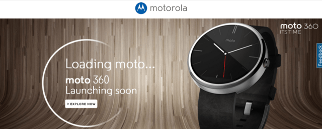 Moto 360 coming to India listed on Flipkart