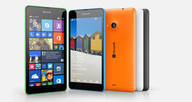 Microsoft Lumia 535 specifications and price in India