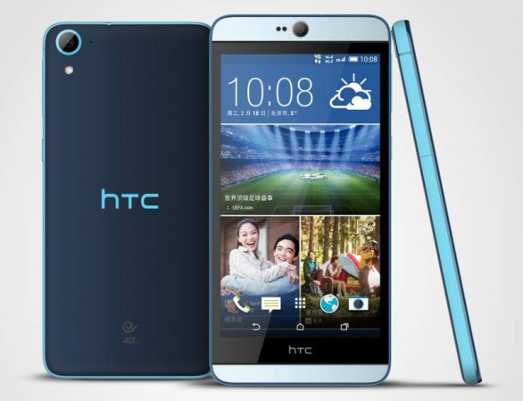 HTC Desire 826:Android Smartphones launched at CES 2015