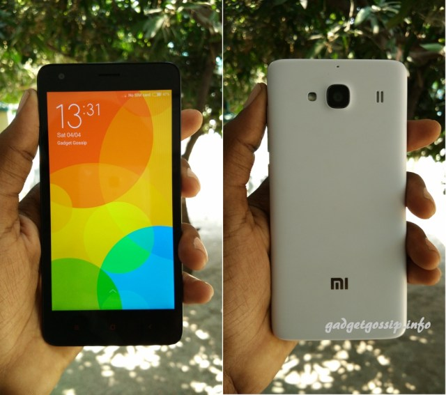 Xiaomi Redmi 2 Review : Compact yet powerful