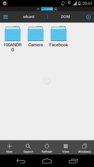 How to move Facebook Media to SD Card in Android