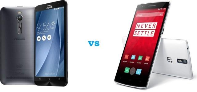 Asus Zenfone 2 ZE551ML  Vs OnePlus One