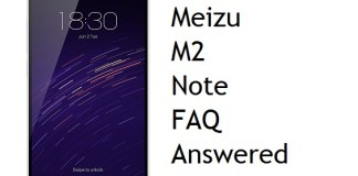 meizu m2 note FAQ & doubts answered