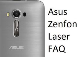Asus Zenfone 2 Laser FAQ & doubts answered