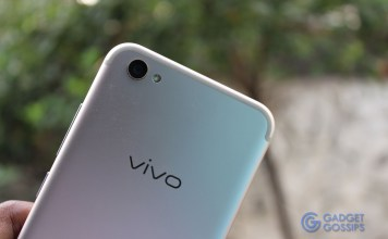 Vivo V5 Plus review - rear camera