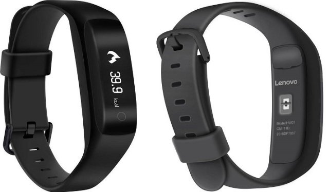 Lenovo launches HW01 Smart Band to compete Mi Band 2