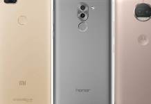 Xiaomi Mi A1 Vs Moto G5S Plus Vs Honor 6X comparison