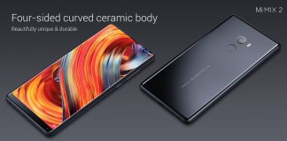 Mi Mix 2 Specifications and price details