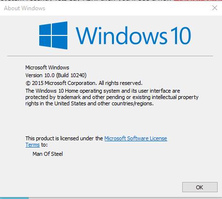 windows 10 latest build number 2015, windows 10 build 10240, windows 10 10240, windows 10 build list windows 10 build history, windows 10 build number check, current windows 10 version,