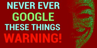 5 things you shouldn't search on google,
