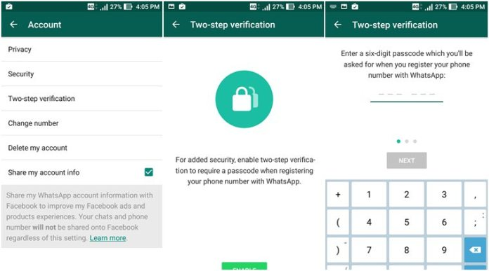 whatsapp-2-step-verification, whatsapp