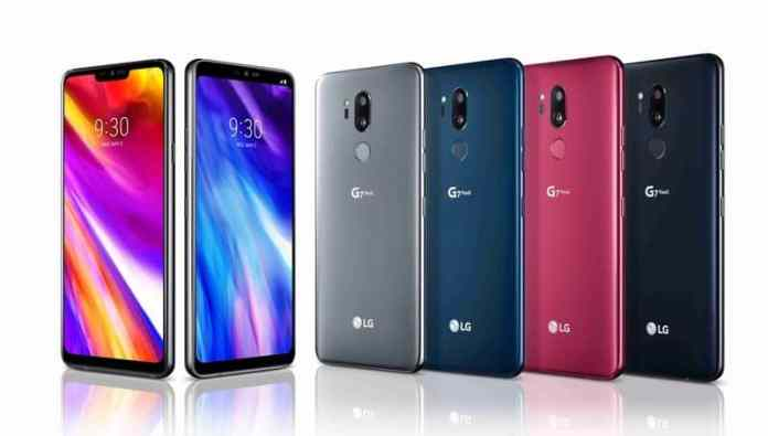 LG announced on Wednesday on May 2 their two flagship smartphones called LG G7 ThinQ and LG G7 Plus ThinQ in New York.