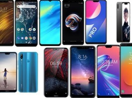 Top Smartphones in India under Rs. 20,000 (31st December 2018)