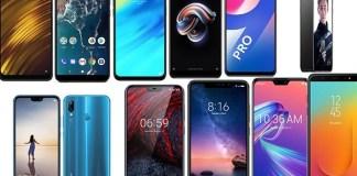 Top Smartphones in India under Rs. 20,000 (31st December 2018)