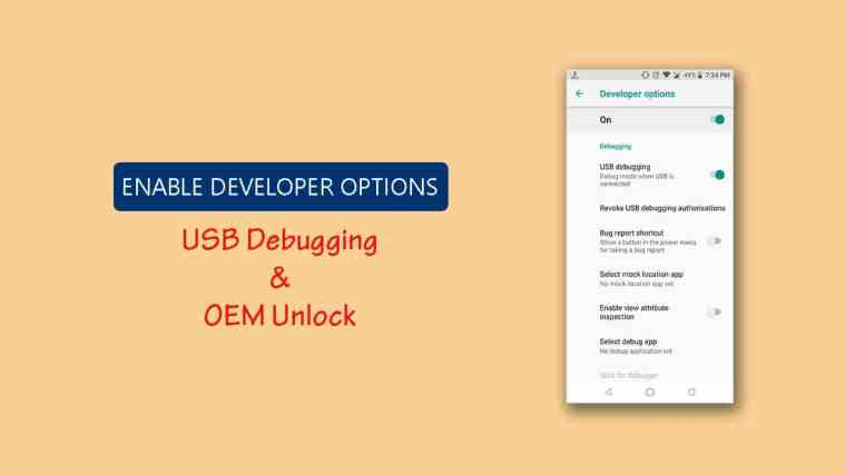 How to Enable Developer Options and USB Debugging on Android Device