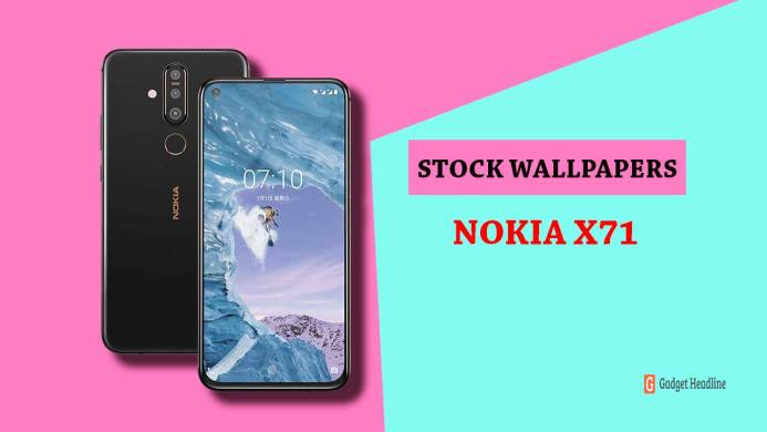 Download Nokia X71 Stock Wallpapers in FHD+ Resolution