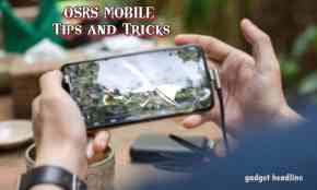 OSRS Mobile Tips and Tricks for beginners
