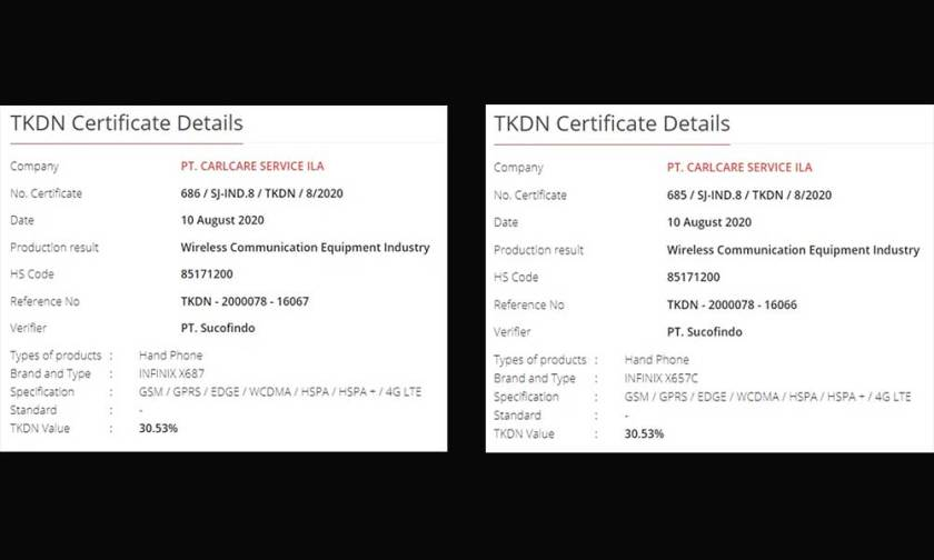 Infinix Zero 8 and Infinix X657C gets TKDN Certification (Visits Geekbench also)