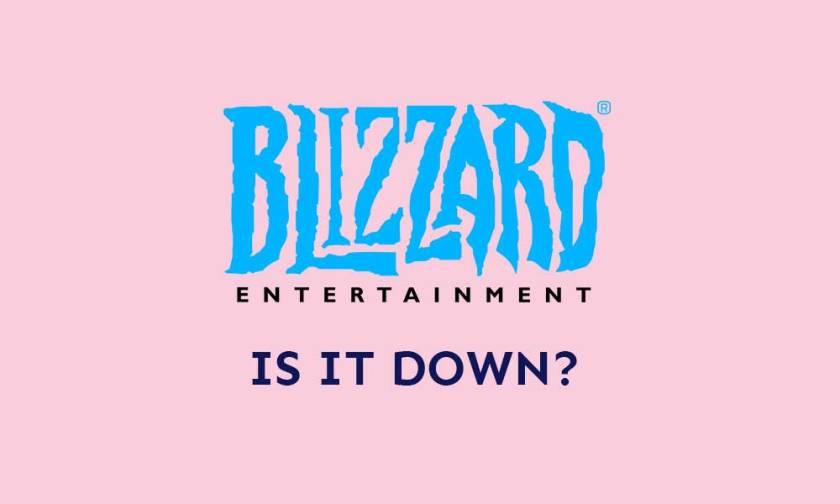 What happens to Blizzard Battle.net? Is it Down?