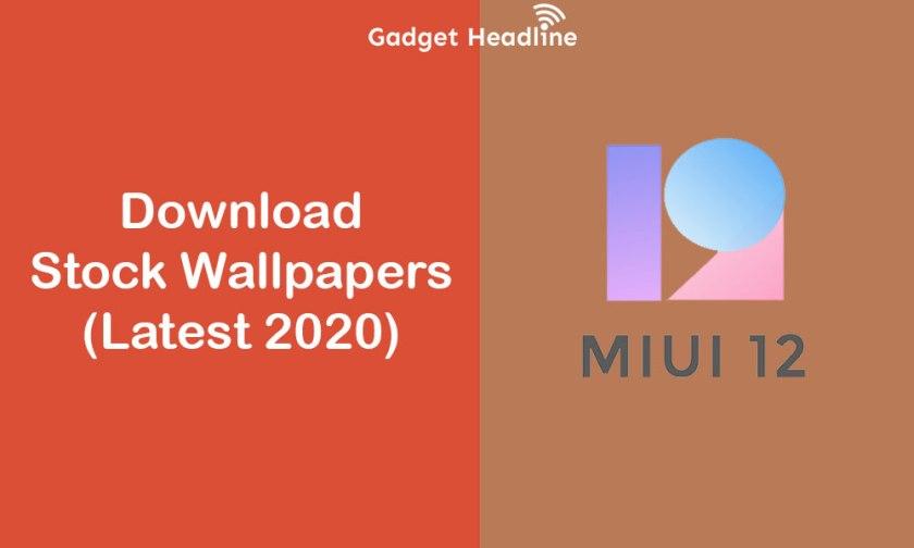 Download MIUI 12 Stock Wallpapers (Sep 2020)