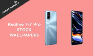 Download Realme 7 and Realme 7 Pro Stock Wallpapers