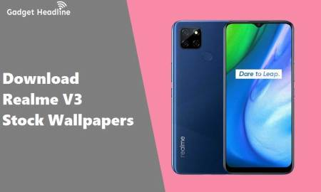 Download Realme V3 5G Stock Wallpapers