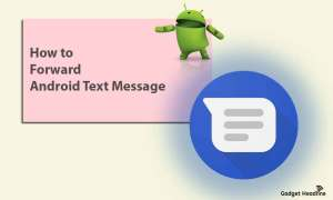 How to Forward Android Text Message