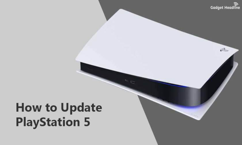 Steps to Update PS5