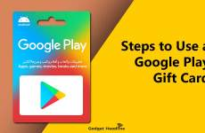 Steps to Use a Google Play Gift Card
