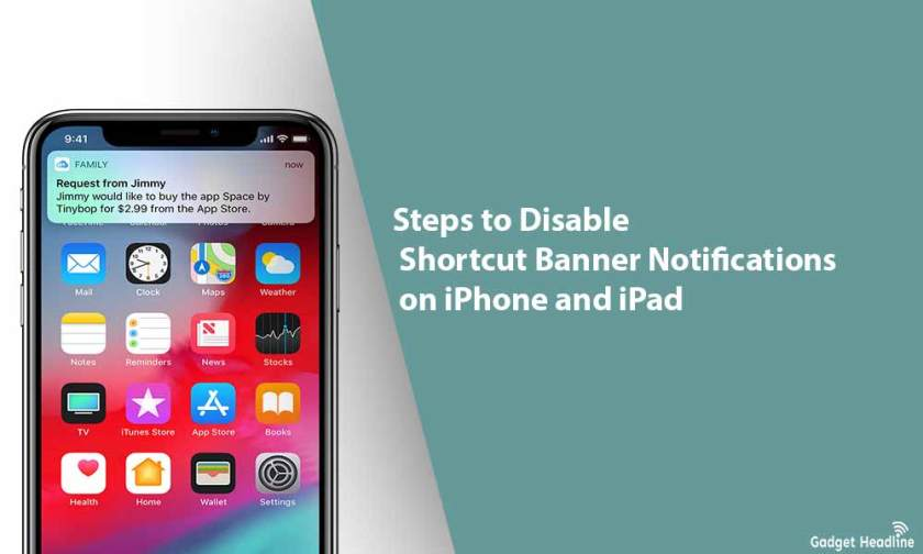 Steps to Disable Shortcut Banner Notifications on iPhone and iPad