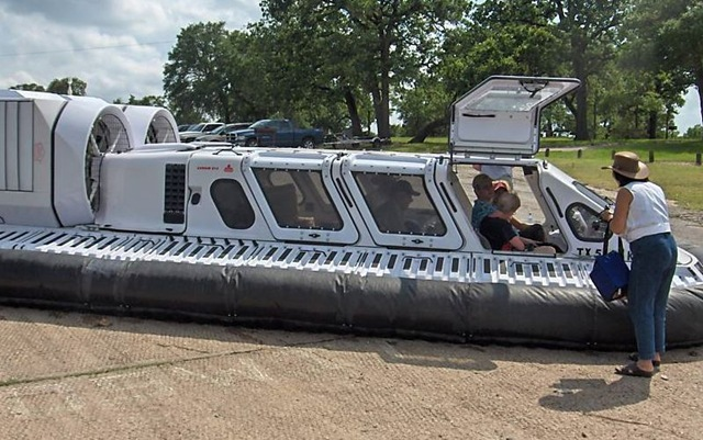 ebay  1999 CanAir Hovercraft For Sale 125000
