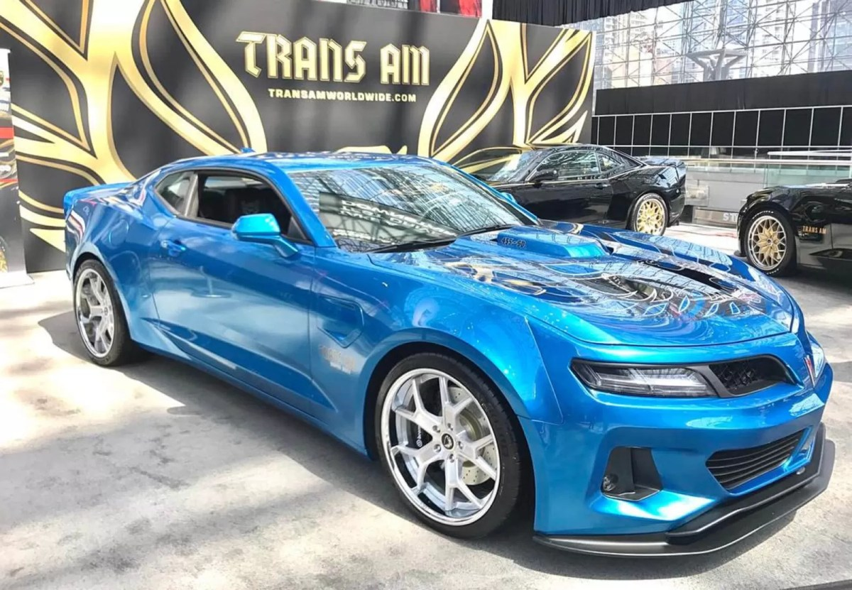 You are currently watching the 1,000 Horsepower 6th-gen Camaro Trans Am 455 Super Duty