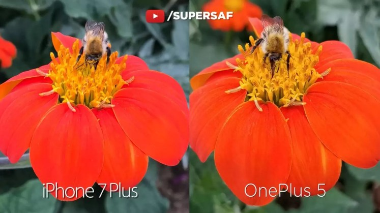OnePlus 5 camera comparision