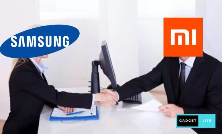 Xiaomi and Samsung
