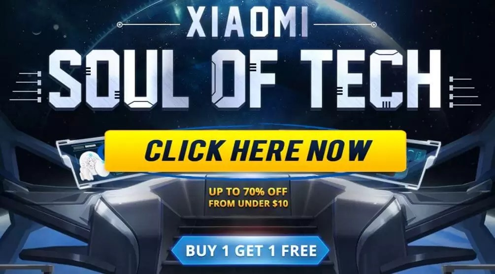 Xiaomi Soul Of Tech promotion bring out Xiaomi best Gadgets at best price