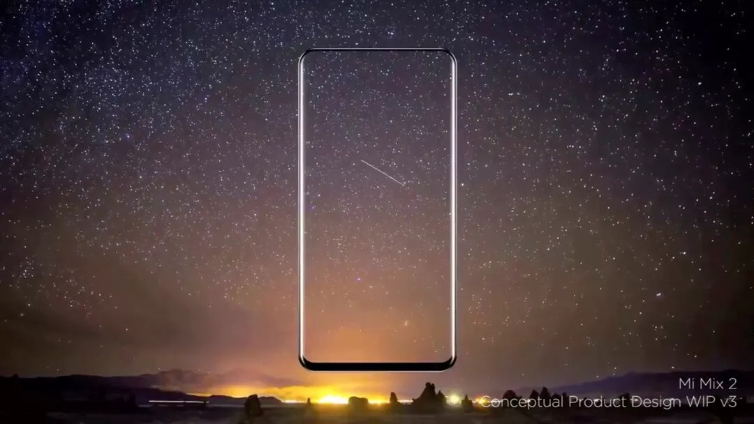 Xiaomi Mi Mix 2 will be out of this World with whole new 'bezelless' design